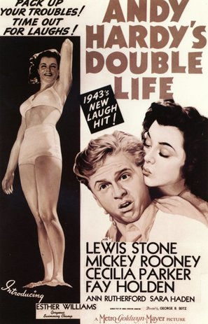Andy Hardy's Double Life - Movie Poster (thumbnail)