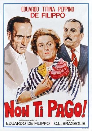Non ti pago! - Italian Theatrical poster (thumbnail)
