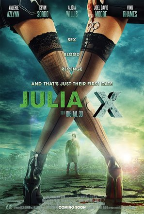 Julia X - British Movie Poster (thumbnail)