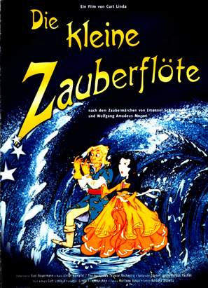 Die kleine Zauberflöte - German Movie Poster (thumbnail)
