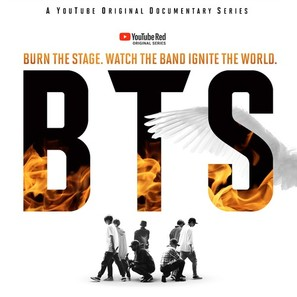 """BTS: Burn the Stage"" - South Korean Movie Poster (thumbnail)"