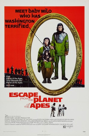 Escape from the Planet of the Apes - Theatrical movie poster (thumbnail)