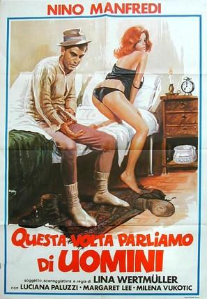 Questa volta parliamo di uomini - Italian Movie Poster (thumbnail)