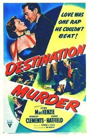 Destination Murder - Movie Poster (thumbnail)