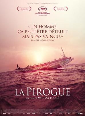 La pirogue - French Movie Poster (thumbnail)