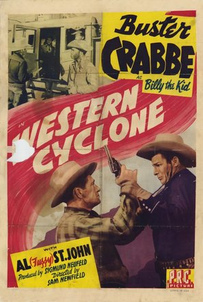 Western Cyclone - Movie Poster (thumbnail)