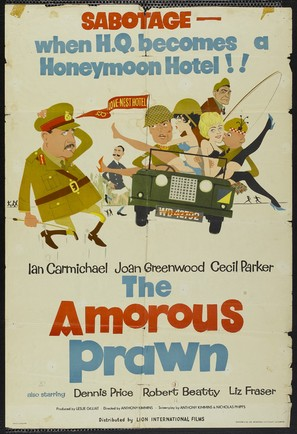 The Amorous Prawn - British Movie Poster (thumbnail)