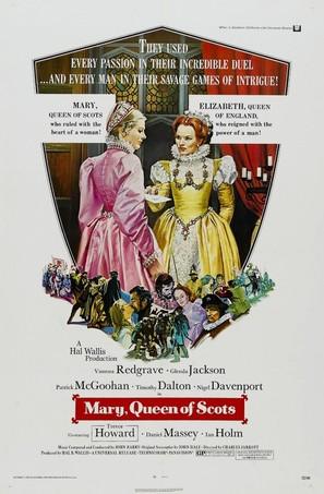 Mary, Queen of Scots - Movie Poster (thumbnail)