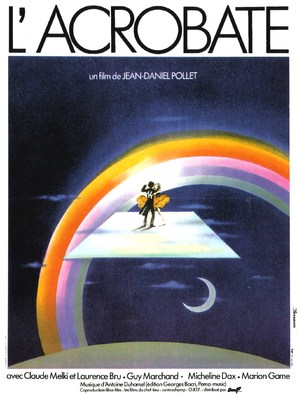L'acrobate - French Movie Poster (thumbnail)