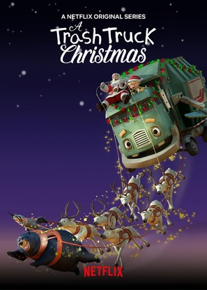 A Trash Truck Christmas - Movie Poster (thumbnail)