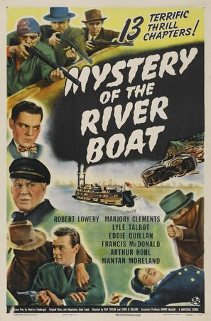 The Mystery of the Riverboat - Movie Poster (thumbnail)