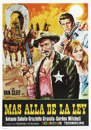 Al di là della legge - Spanish Movie Poster (thumbnail)