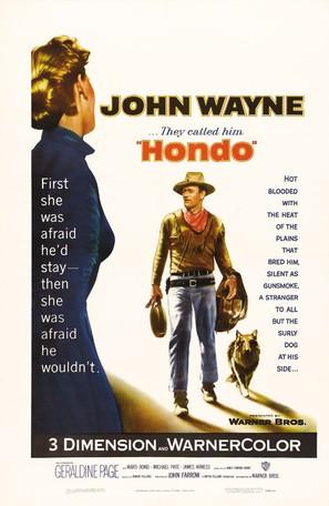 Hondo - Movie Poster (thumbnail)