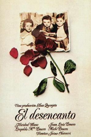 El desencanto - Spanish Movie Poster (thumbnail)