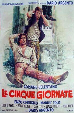 Le cinque giornate - Italian Movie Poster (thumbnail)