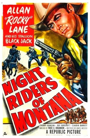 Night Riders of Montana - Movie Poster (thumbnail)