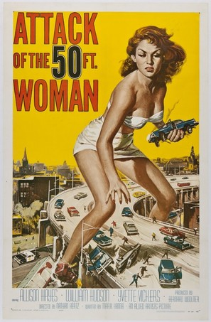 Attack of the 50 Foot Woman - Movie Poster (thumbnail)