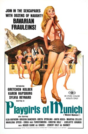 Playgirls of Munich - Movie Poster (thumbnail)