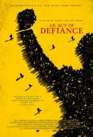 An Act of Defiance - South African Movie Poster (thumbnail)