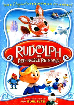 Rudolph, the Red-Nosed Reindeer - DVD cover (thumbnail)