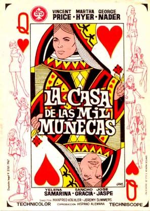 La casa de las mil muñecas - Spanish Movie Poster (thumbnail)