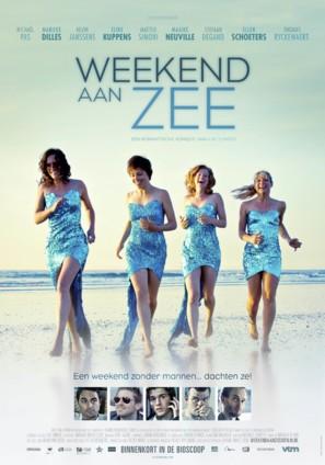 Weekend aan Zee - Belgian Movie Poster (thumbnail)