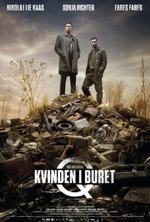 Kvinden i buret - Danish Movie Poster (thumbnail)