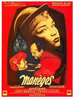 Manèges - French Movie Poster (thumbnail)