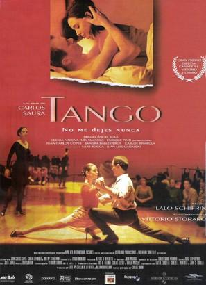 Tango, no me dejes nunca - Spanish Movie Poster (thumbnail)
