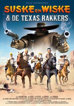 Suske en Wiske: De Texas rakkers - Belgian Movie Poster (thumbnail)