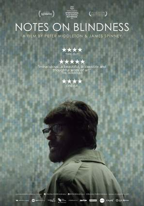Notes on Blindness - British Movie Poster (thumbnail)