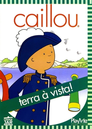 """Caillou"" - Brazilian Movie Cover (thumbnail)"