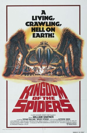 Kingdom of the Spiders - Movie Poster (thumbnail)
