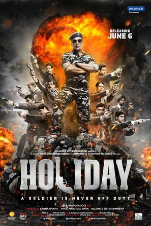 Holiday - Indian Movie Poster (thumbnail)