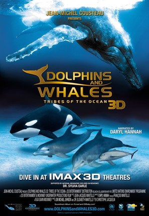 Dolphins and Whales 3D: Tribes of the Ocean - Movie Poster (thumbnail)