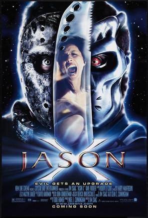 Jason X - Advance movie poster (thumbnail)