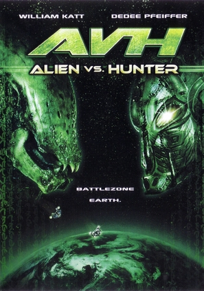 Alien vs. Hunter - DVD cover (thumbnail)