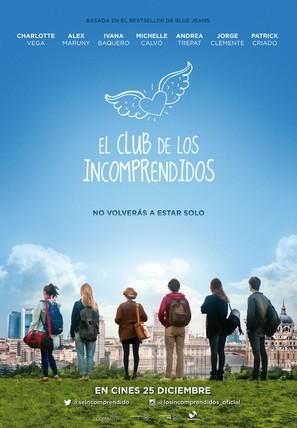 El club de los incomprendidos - Spanish Movie Poster (thumbnail)