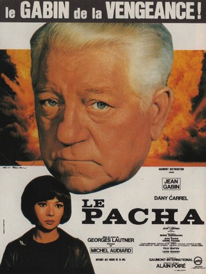 Le pacha - French Movie Poster (thumbnail)