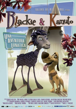 Blackie & Kanuto - Spanish Movie Poster (thumbnail)