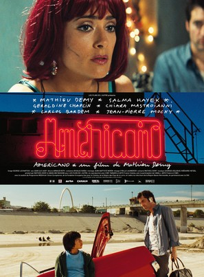 Americano - French Movie Poster (thumbnail)