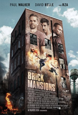 Brick Mansions - Movie Poster (thumbnail)