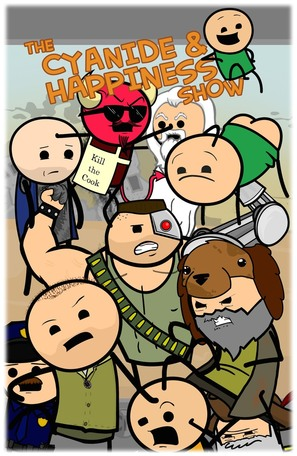 """""""The Cyanide & Happiness Show"""" - Movie Poster (thumbnail)"""