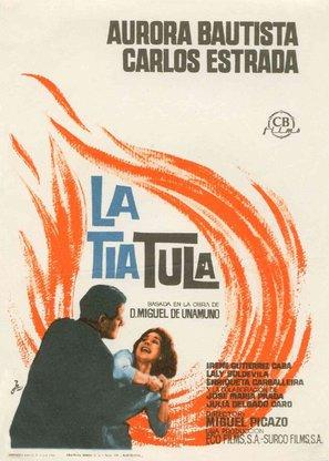 La tía Tula - Spanish Movie Poster (thumbnail)