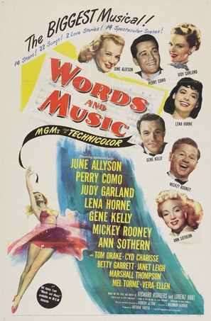 Words and Music - Movie Poster (thumbnail)