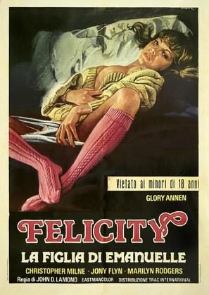 Felicity - Italian Movie Poster (thumbnail)