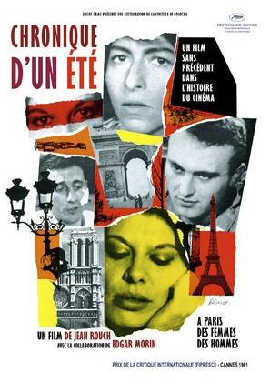 Chronique d'un été (Paris 1960) - French Movie Poster (thumbnail)