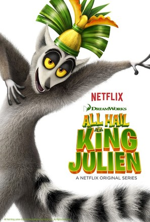 """All Hail King Julien"" - Movie Poster (thumbnail)"