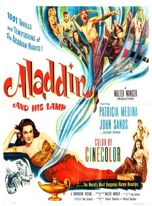 Aladdin and His Lamp - Movie Poster (thumbnail)