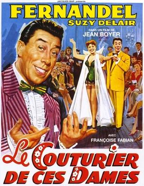 Le couturier de ces dames - French Movie Poster (thumbnail)